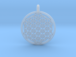 Flower Of Life in Smoothest Fine Detail Plastic