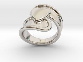 Valentinodayring  25 - Italian Size 25 in Platinum