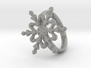 Snowflake Ring 2 d=19mm h35d19 in Aluminum