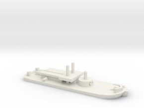 USS Ozark (1863), 1/1200 in White Natural Versatile Plastic