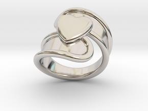 Valentinodayring  30 - Italian Size 30 in Platinum