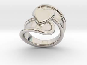 Valentinodayring  32 - Italian Size 32 in Platinum