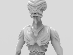 Gryealden The Alien of a Distant Planet in White Natural Versatile Plastic