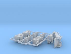 Flughafenzubehör - 1:220 (Z scale) in Smooth Fine Detail Plastic