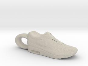Nike Air Max 1 Sneaker Pendant in Natural Sandstone