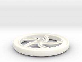 7/8n2 brakewheel in White Strong & Flexible Polished
