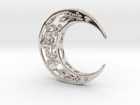 Moon_Pendant in Platinum