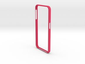 Galaxy S 6 Bumper Samsung in Pink Processed Versatile Plastic