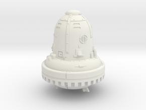 1:144 The Bell (Die Glocke) in White Natural Versatile Plastic