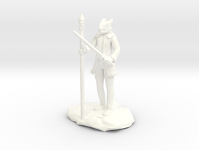Dragonborn Ice Sorcerer in White Processed Versatile Plastic