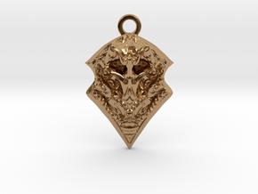 BORO pendant  in Polished Brass