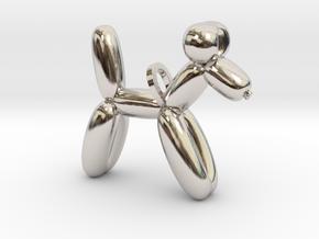 Balloon Dog in Platinum