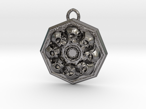 SKUX pendant  in Polished Nickel Steel