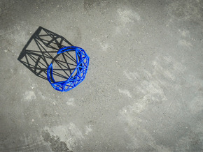 Space Bracelet in Blue Processed Versatile Plastic