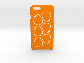 GPick iPhone 6 6s case in Orange Strong & Flexible Polished