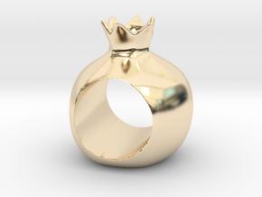 ROSHANNA napkin ring in 14K Yellow Gold