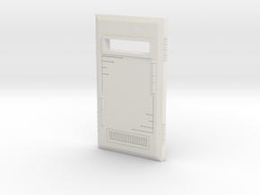 Powered Shield in White Natural Versatile Plastic