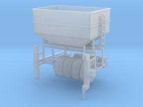1/64 scale DMI 300 bushel center dump wagon kit in Smooth Fine Detail Plastic