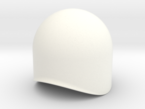 Dome (40mm Boiler) in White Strong & Flexible Polished