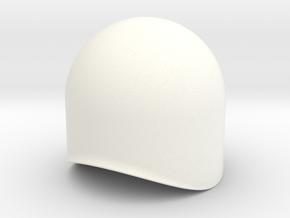 Dome 30mm in White Processed Versatile Plastic