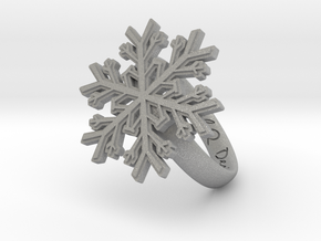 Snowflake Ring 1 d=16.5mm h35d165 in Aluminum