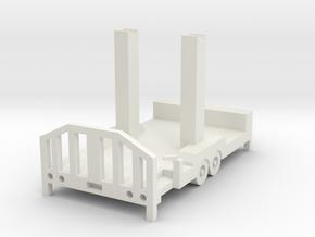 Little Wheel Trailer in White Strong & Flexible