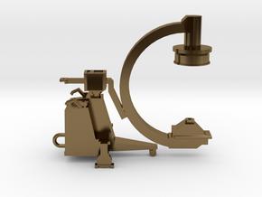 C-ARM - XRAY MACHINE in Polished Bronze