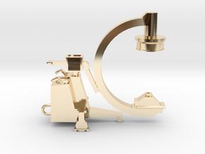 C-ARM - XRAY MACHINE in 14k Gold Plated Brass