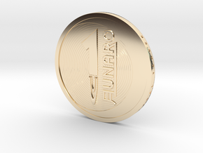 Lunaro Sterling. 2014, coin in 14K Yellow Gold