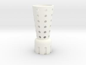 Part01 in White Processed Versatile Plastic
