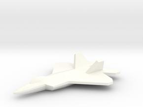 F-22 Raptor 1/350 in White Processed Versatile Plastic