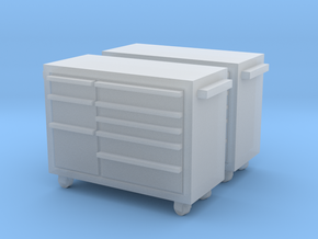 1:72 2x Snap-On Toolbox in Frosted Ultra Detail