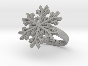 Snowflake Ring 1 d=17.5mm h35d175 in Aluminum