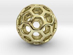 HONEYSPHERE Pendant in 18k Gold Plated
