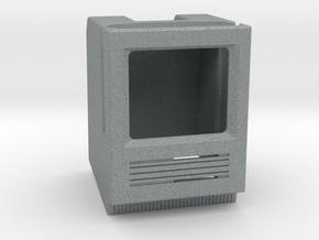 Apple Watch Dock - Mac SE in Polished Metallic Plastic