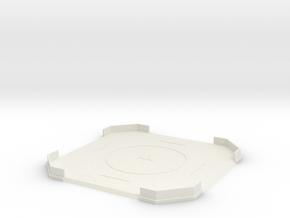 Landing Pad in White Natural Versatile Plastic