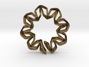 YOUNIC Blossom 350R, Pendant in Polished Bronze