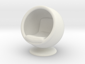 Ballchair (28mm) in White Strong & Flexible