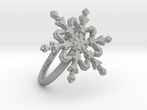 Snowflake Ring 2 d=18.5mm h21d185 in Aluminum