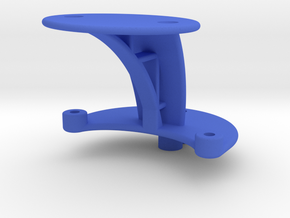 XuGong V2 - Mount for Controller & Cased Cam in Blue Strong & Flexible Polished