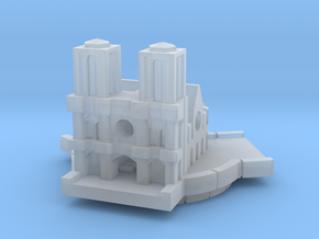 Notre Dame in Smooth Fine Detail Plastic