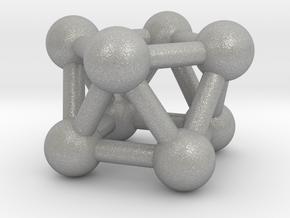 0444 Square Antiprism (a=1cm) #003 in Aluminum
