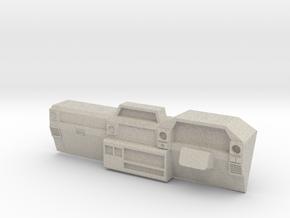 Dash for 1:10 scale LandCruiser FJ 70 body in Natural Sandstone
