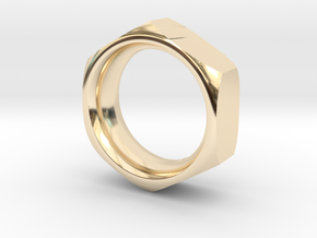 The Reverse Engineer (18mm) in 14K Yellow Gold