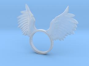 Nipple shield owl wings in Smooth Fine Detail Plastic