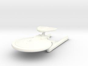 1/2500 - Hutzel A - ECM Cruiser (solid nacelles) in White Processed Versatile Plastic