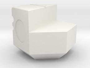NXS - 3-2 Piece in White Natural Versatile Plastic