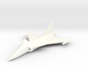 1/400 Saab JAS 39 Gripen in White Processed Versatile Plastic