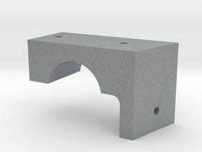 CAC Boomerang Lwr Panel Mount in Polished Metallic Plastic