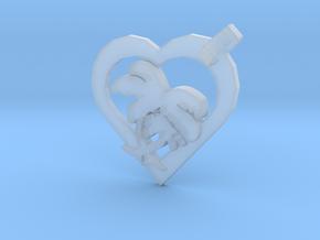 Valentine Palm in Smooth Fine Detail Plastic